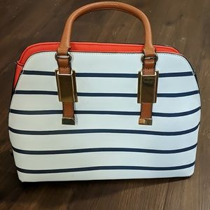 Stripe purse